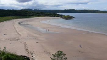 Scotland Gairloch Beach holidays