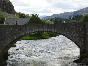 Poolewe - the bridge at Poolewe
